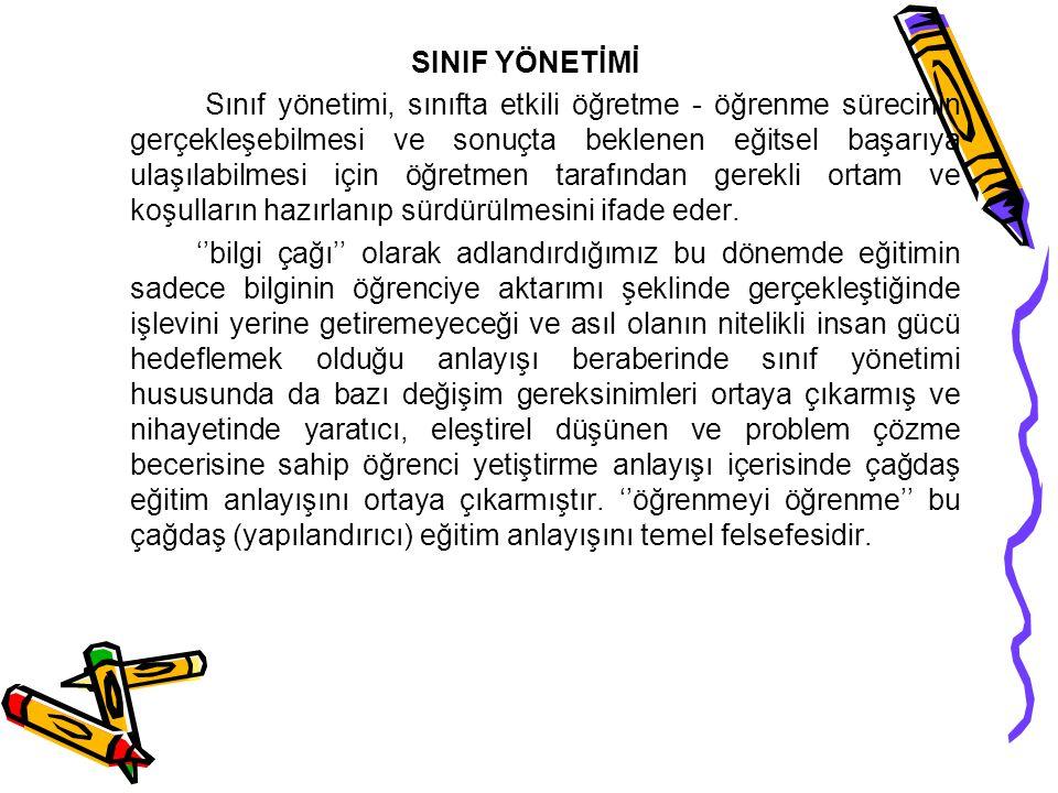 SINIF YÖNETİMİ