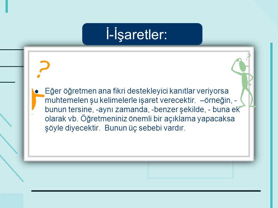 İ-İşaretler: