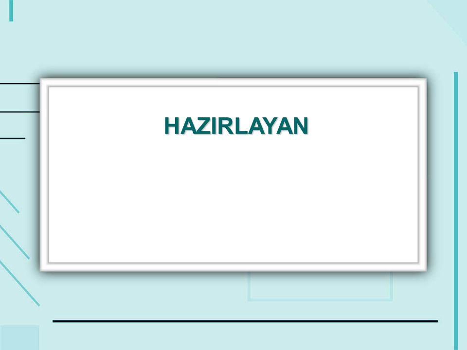 HAZIRLAYAN