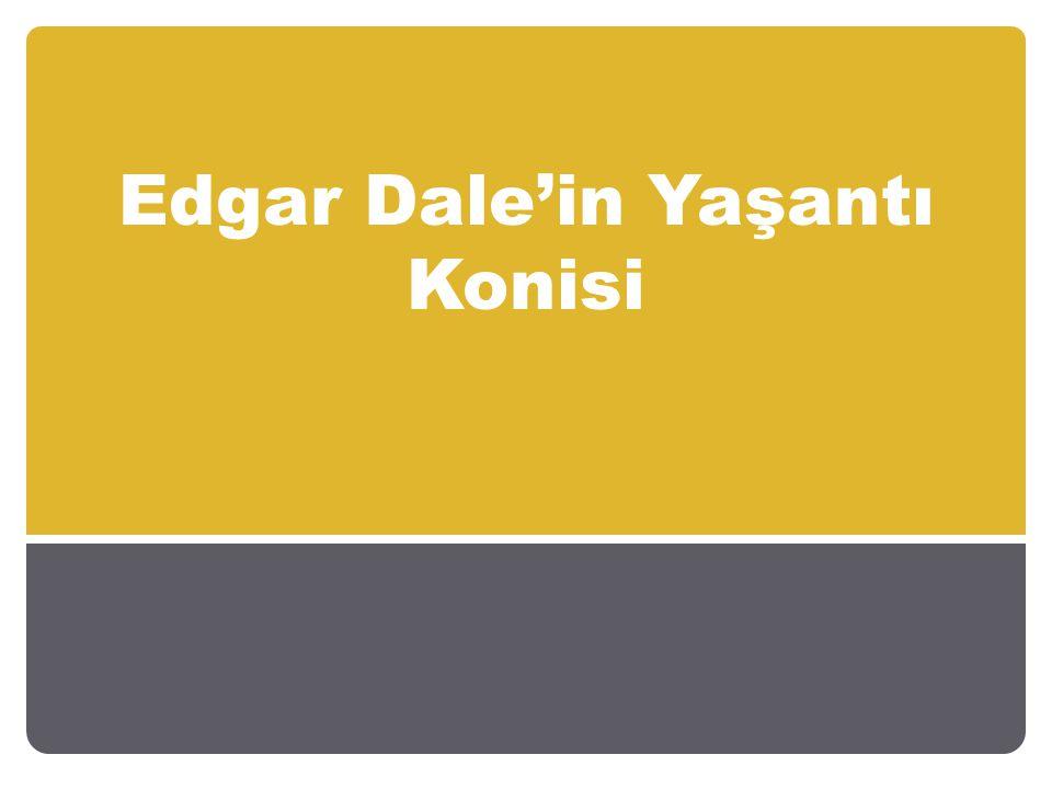 Edgar Dale'in Yaşantı Konisi