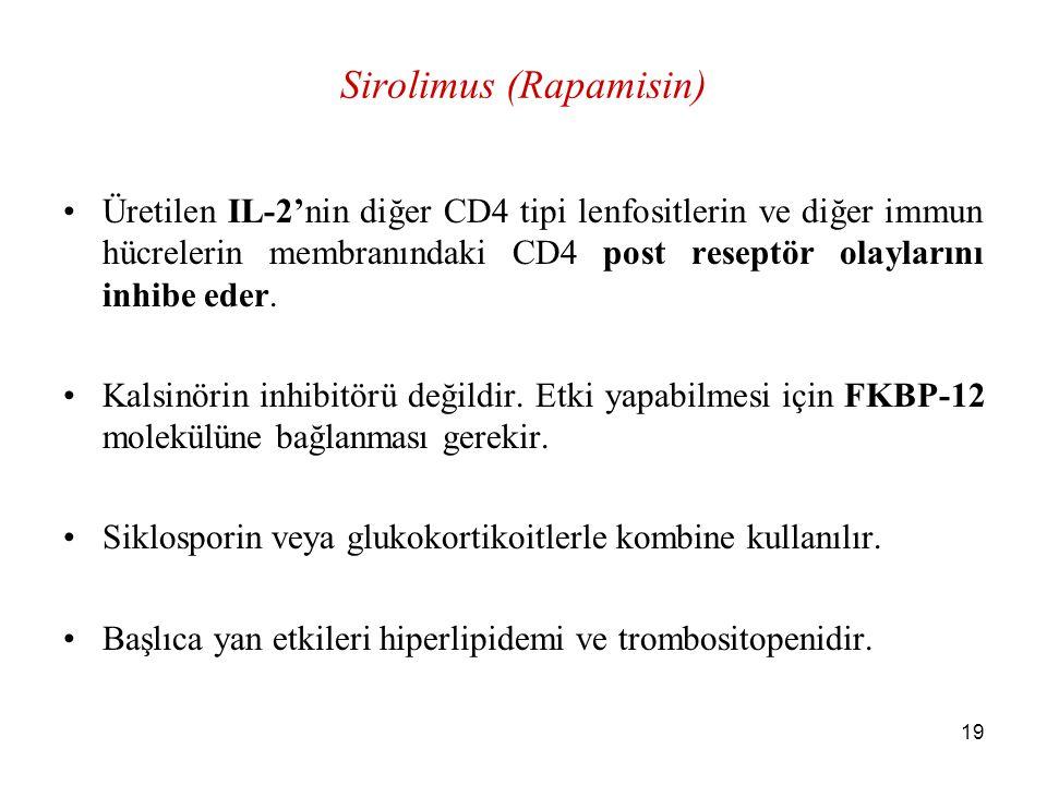 Sirolimus (Rapamisin)