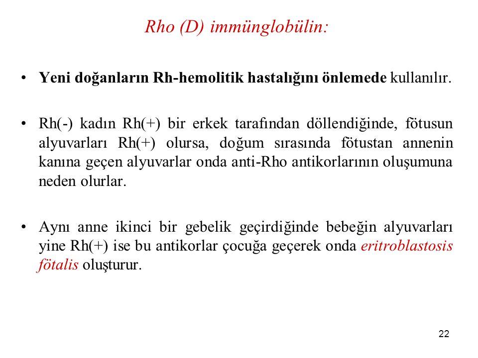 Rho (D) immünglobülin: