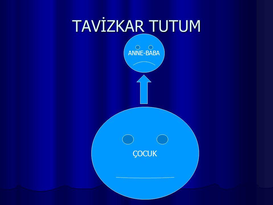 TAVİZKAR TUTUM ANNE-BABA ÇOCUK
