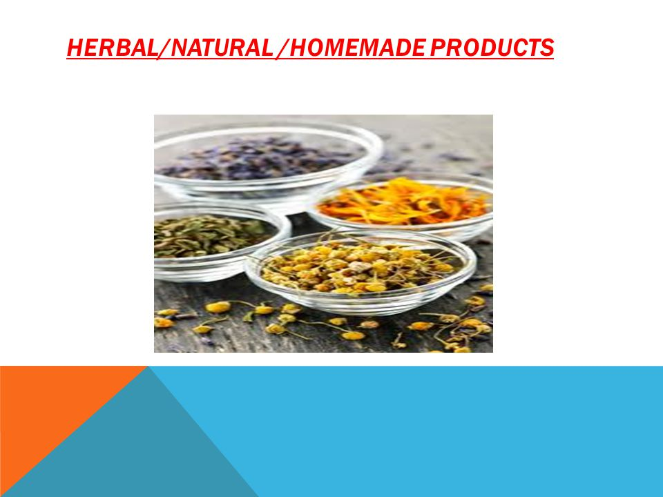 HERBAL/NATURAL /homemade products