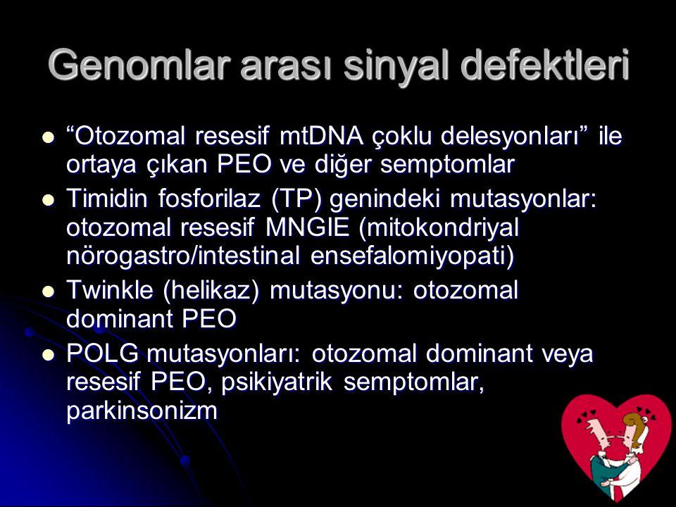 Genomlar arası sinyal defektleri