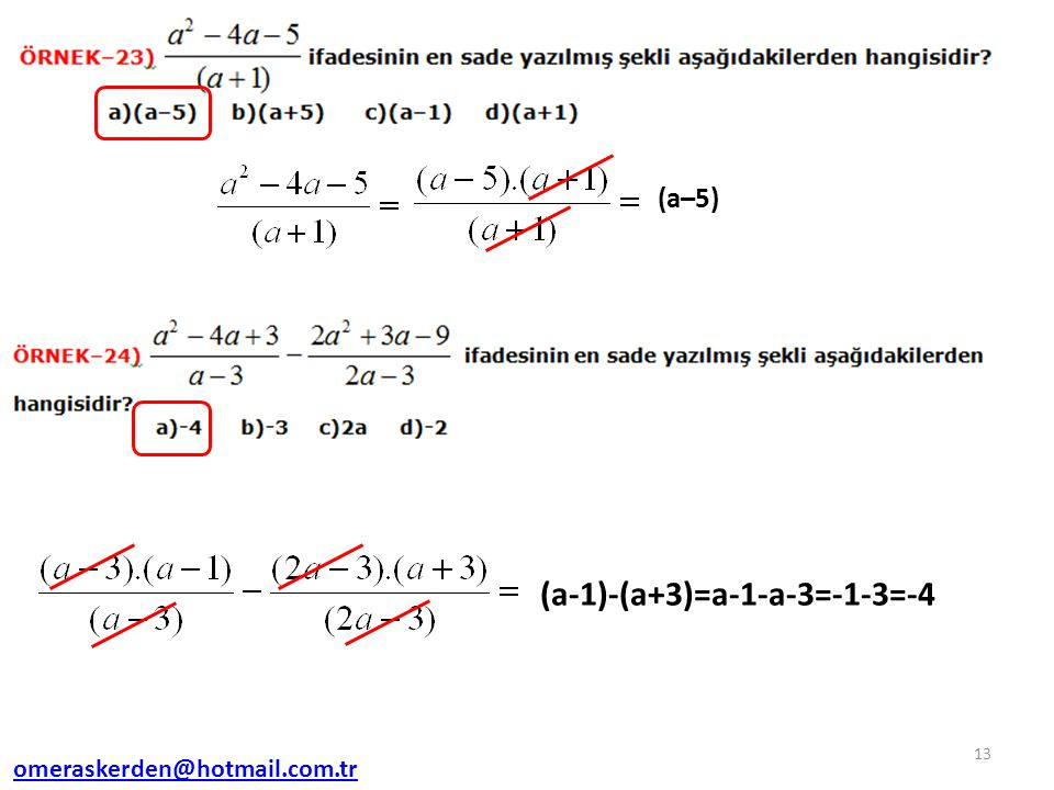 (a-1)-(a+3)=a-1-a-3=-1-3=-4