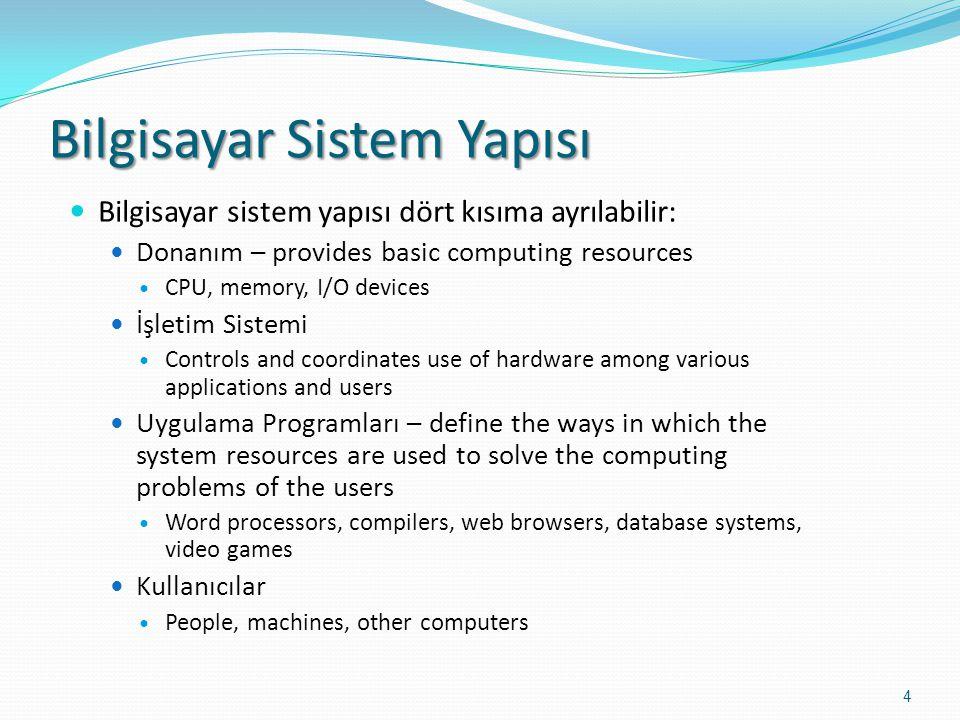 Bilgisayar Sistem Yapısı