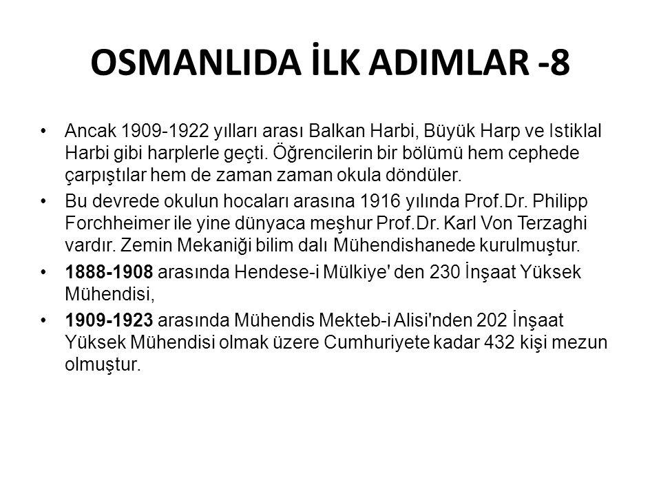 OSMANLIDA İLK ADIMLAR -8