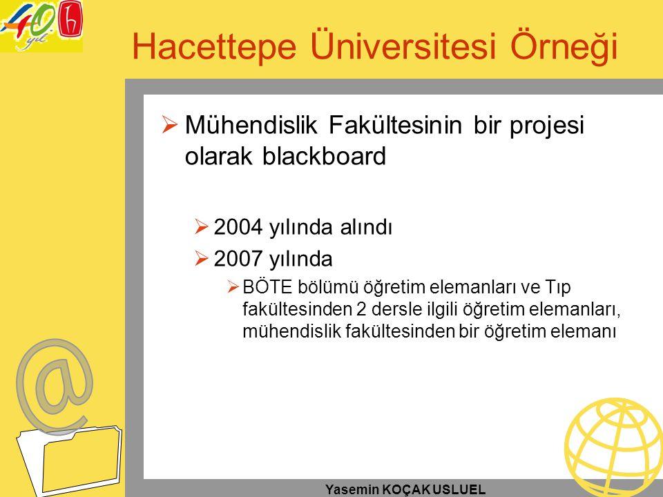 Hacettepe Üniversitesi Örneği