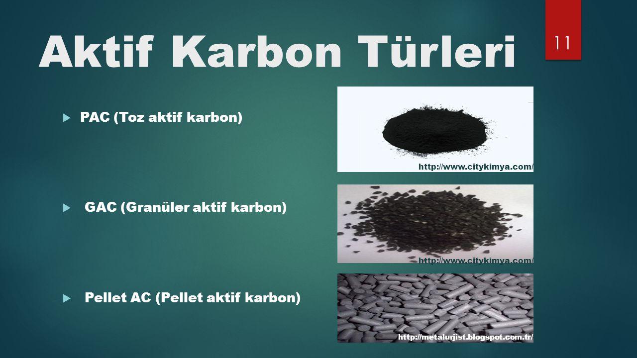 Aktif Karbon Türleri PAC (Toz aktif karbon)
