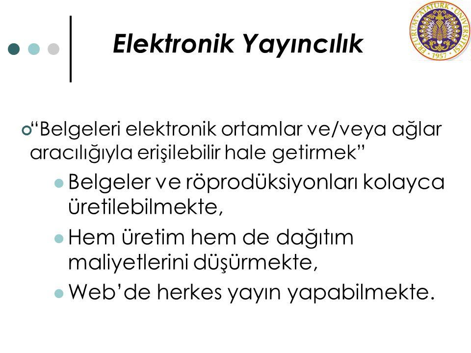 Elektronik Yayıncılık
