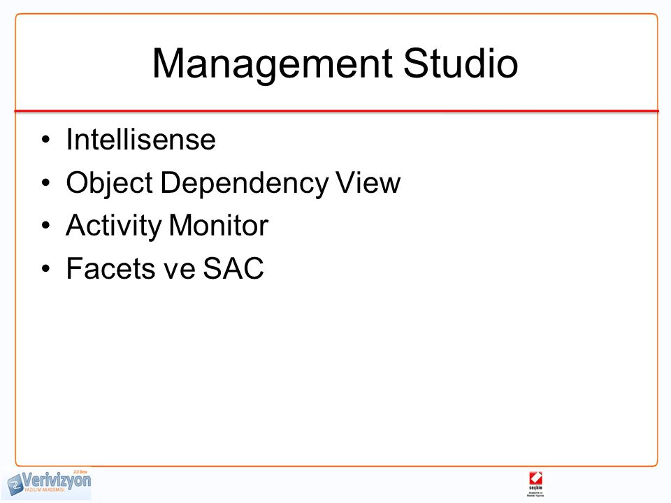 Management Studio Intellisense Object Dependency View Activity Monitor