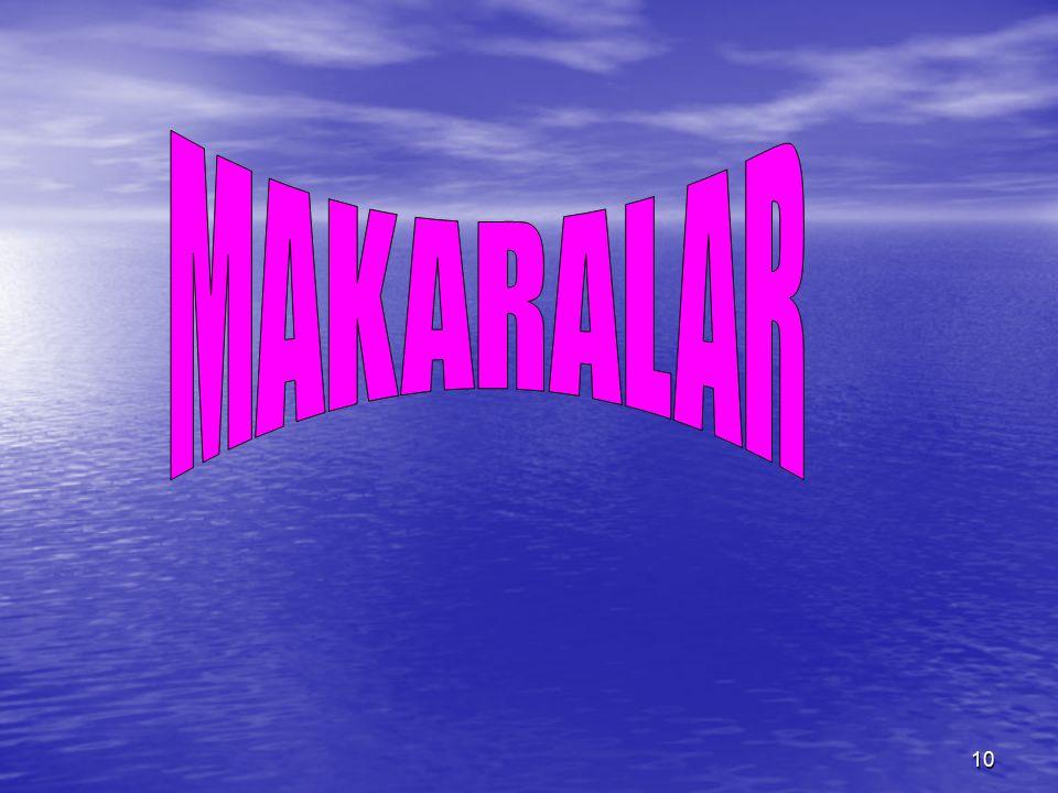MAKARALAR