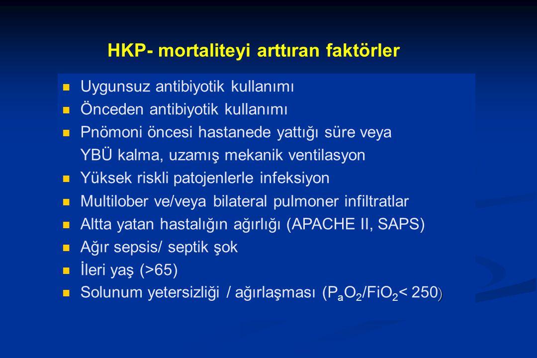 HKP- mortaliteyi arttıran faktörler