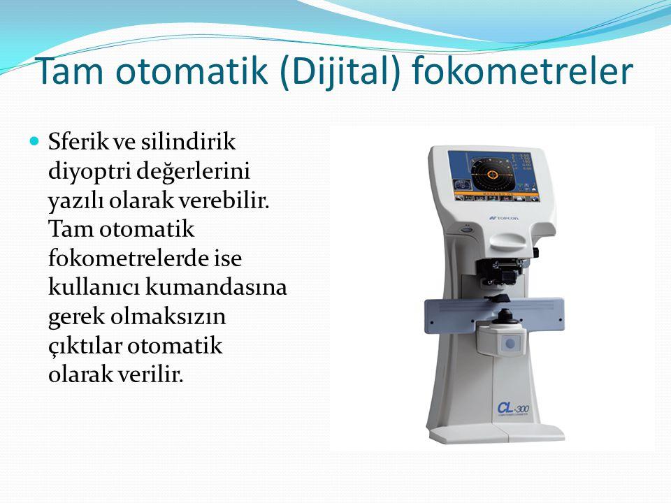 Tam otomatik (Dijital) fokometreler