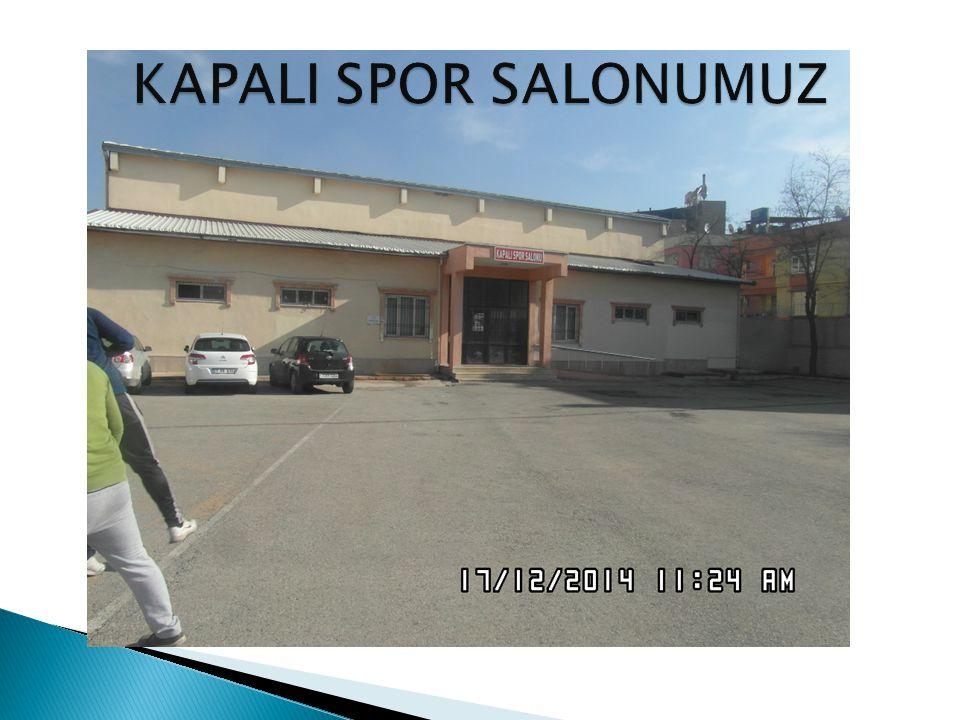 KAPALI SPOR SALONUMUZ