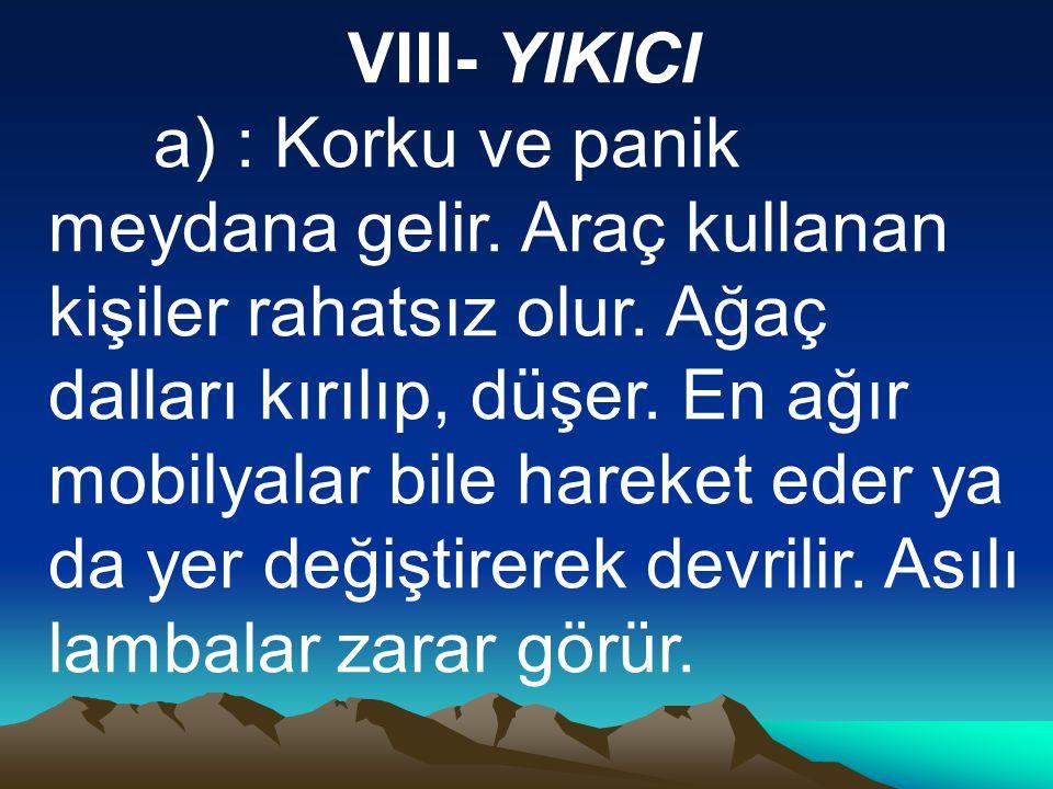 VIII- YIKICI