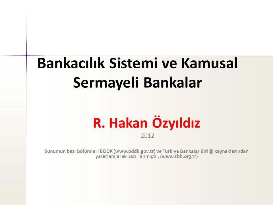 Bankacılık Sistemi ve Kamusal Sermayeli Bankalar