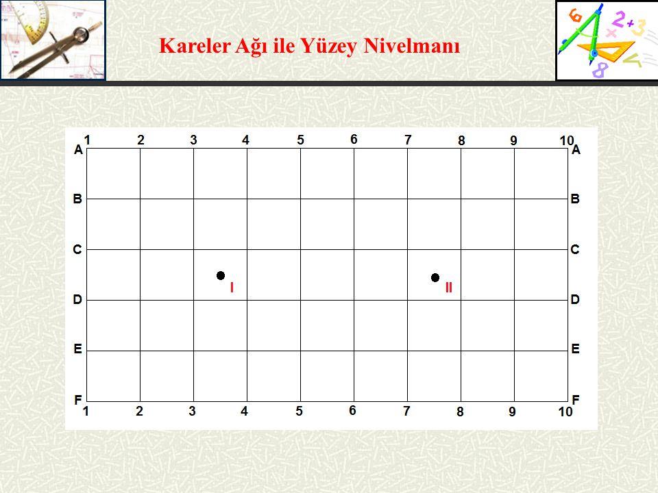 Kareler Ağı ile Yüzey Nivelmanı