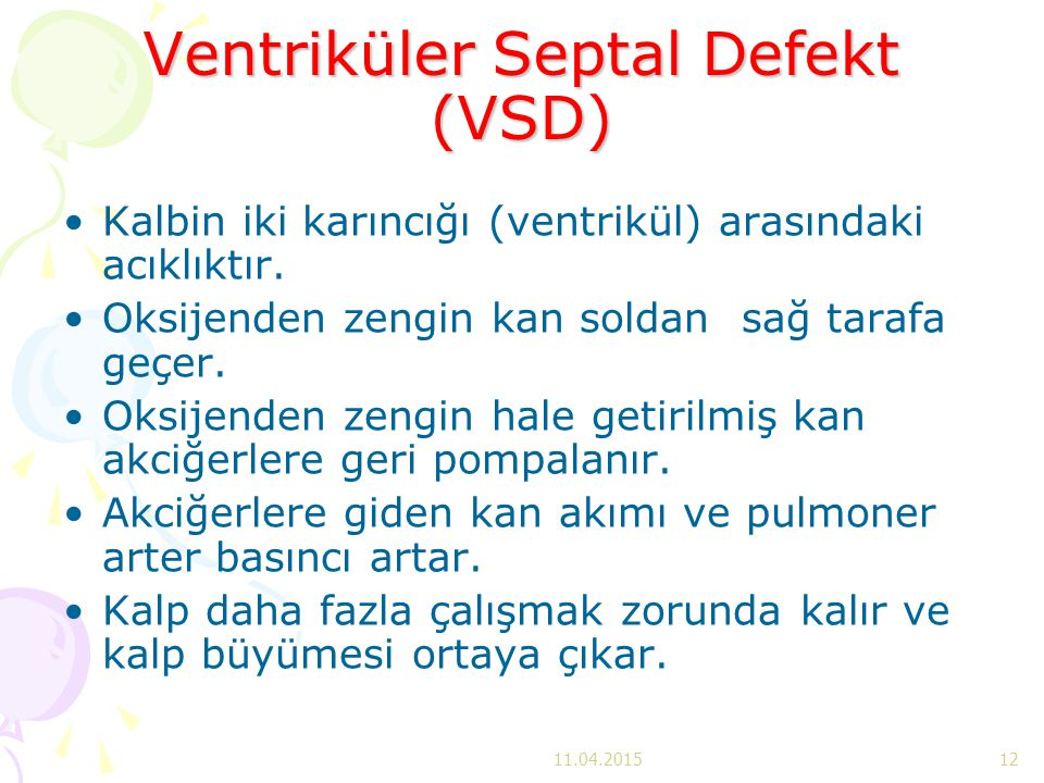 Ventriküler Septal Defekt (VSD)