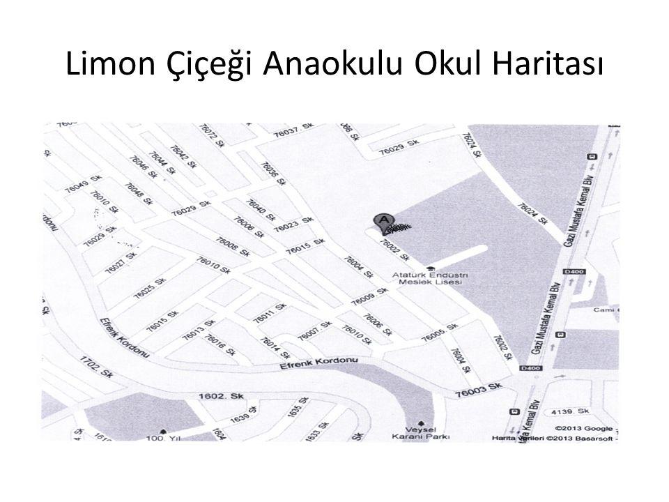 Limon Çiçeği Anaokulu Okul Haritası
