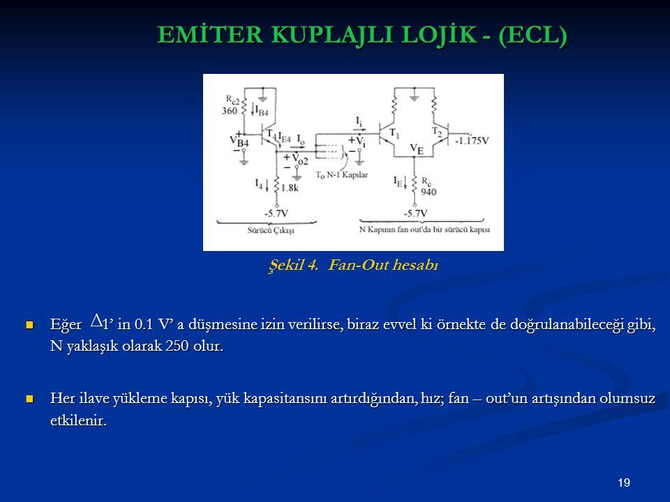 EMİTER KUPLAJLI LOJİK - (ECL)