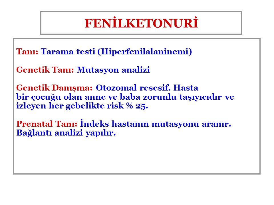FENİLKETONURİ