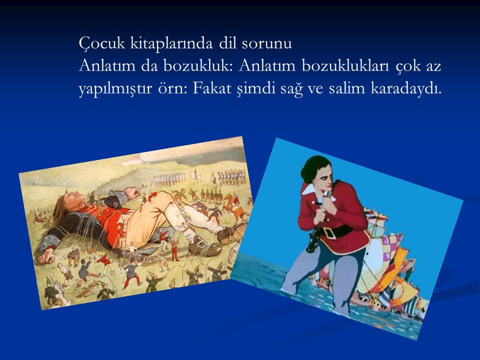 Çocuk kitaplarında dil sorunu