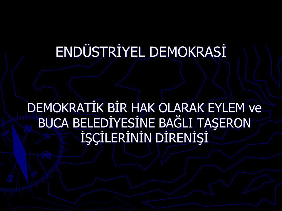 ENDÜSTRİYEL DEMOKRASİ