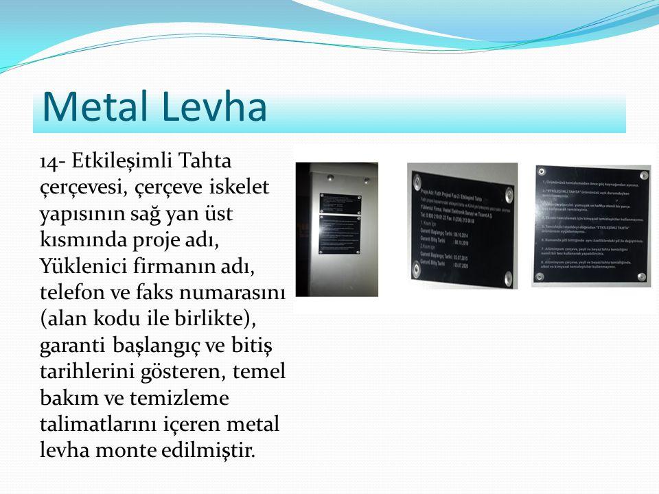 Metal Levha