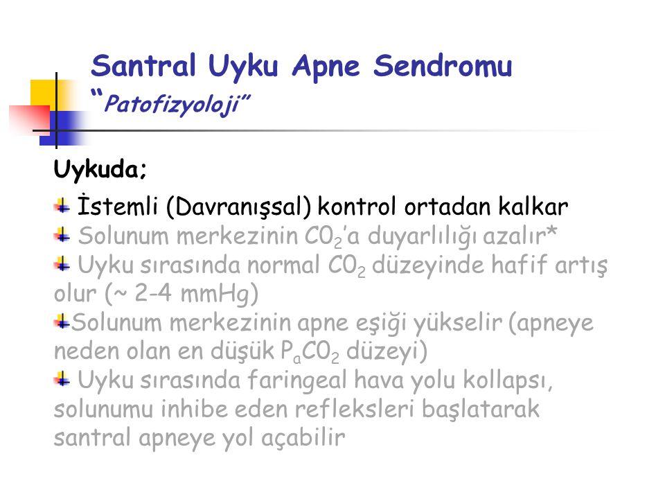 Santral Uyku Apne Sendromu Patofizyoloji