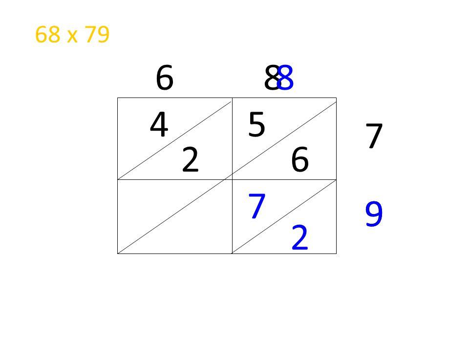 68 x 79 6 8 8 4 5 7 2 6 7 9 9 2