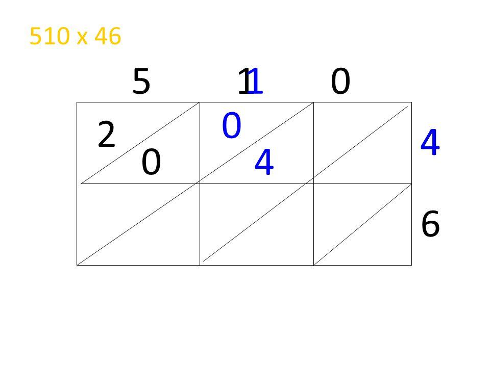 510 x 46 5 1 0 1 2 4 4 4 6