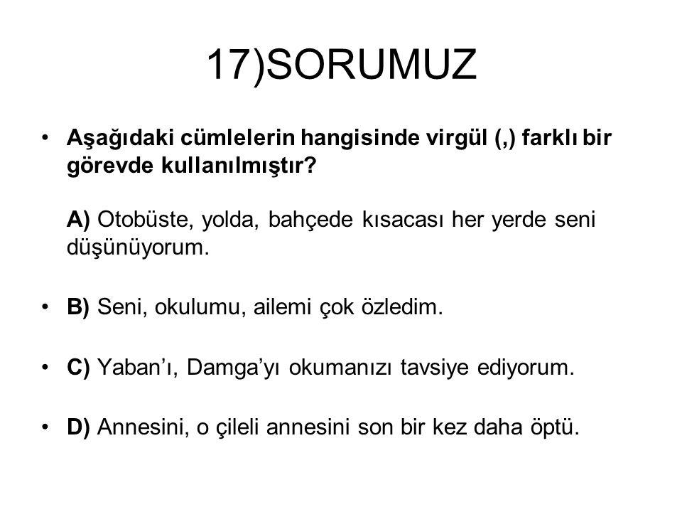 17)SORUMUZ