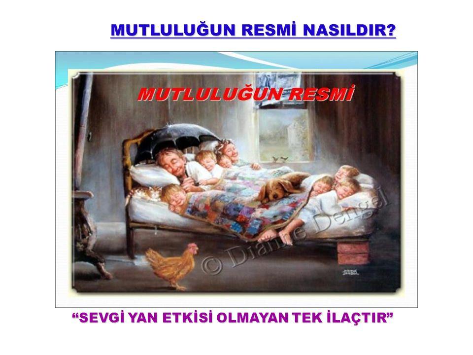 MUTLULUĞUN RESMİ NASILDIR