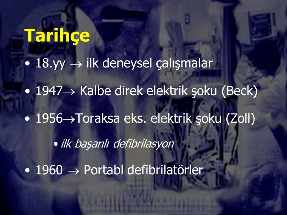 Tarihçe 18.yy  ilk deneysel çalışmalar
