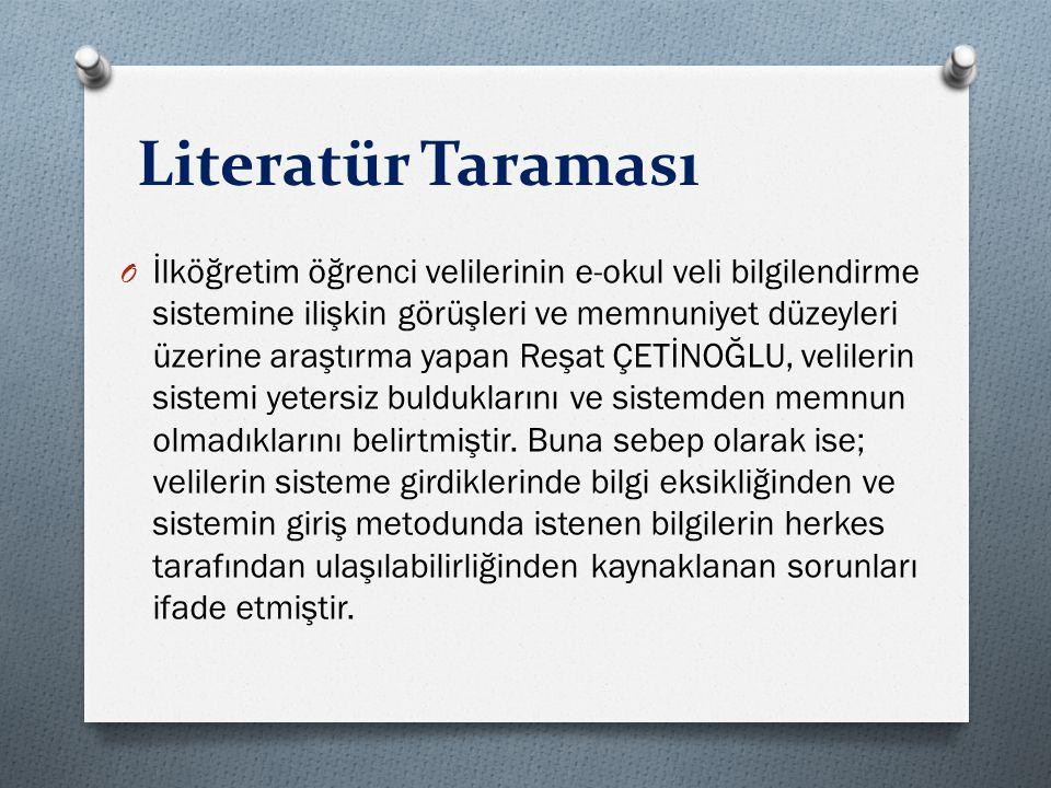 Literatür Taraması
