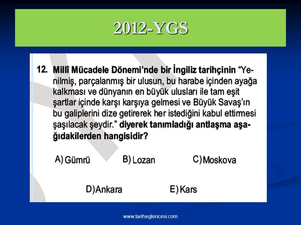 2012-YGS www.tariheglencesi.com