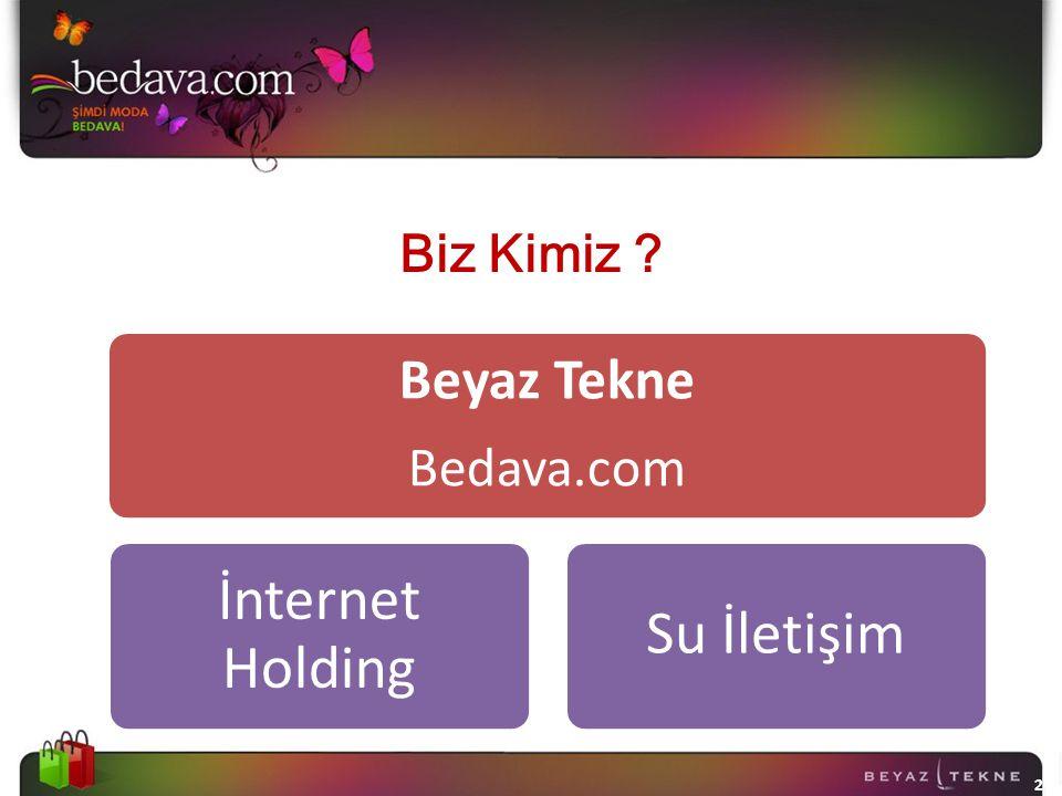 Beyaz Tekne Bedava.com Biz Kimiz 11.04.2017 2 2 İnternet Holding