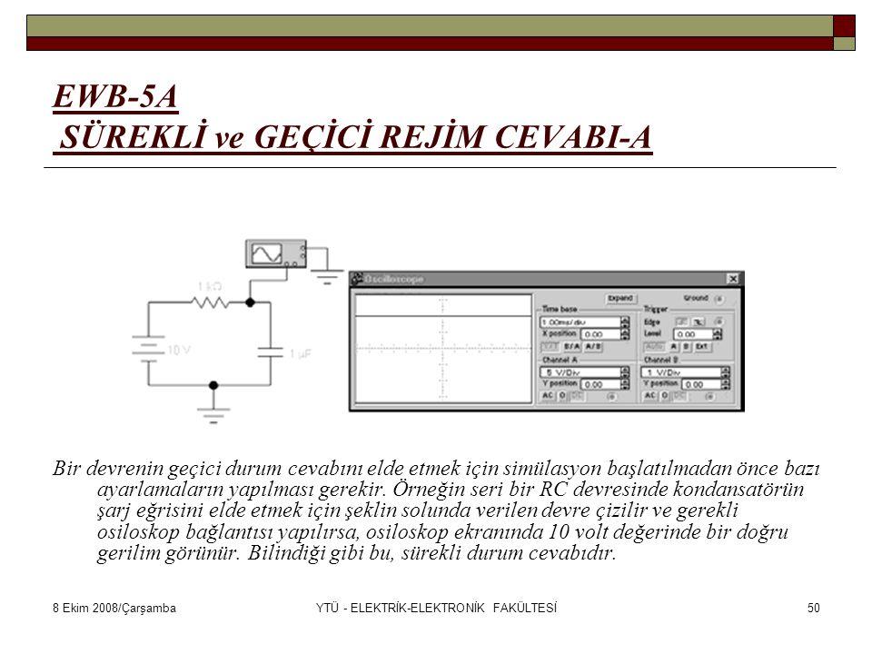 EWB-5A SÜREKLİ ve GEÇİCİ REJİM CEVABI-A