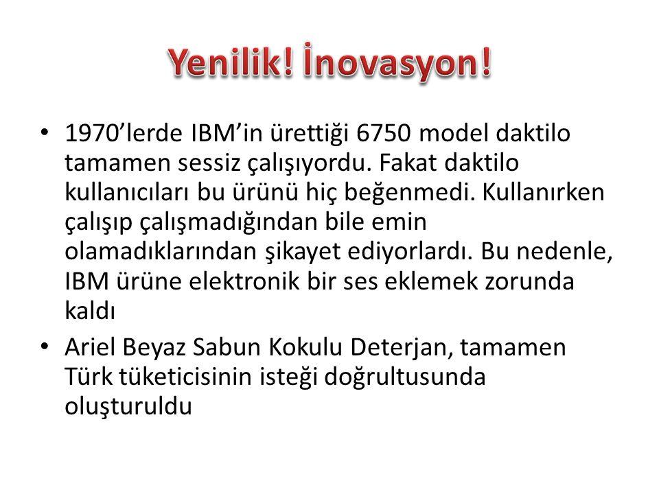 Yenilik! İnovasyon!