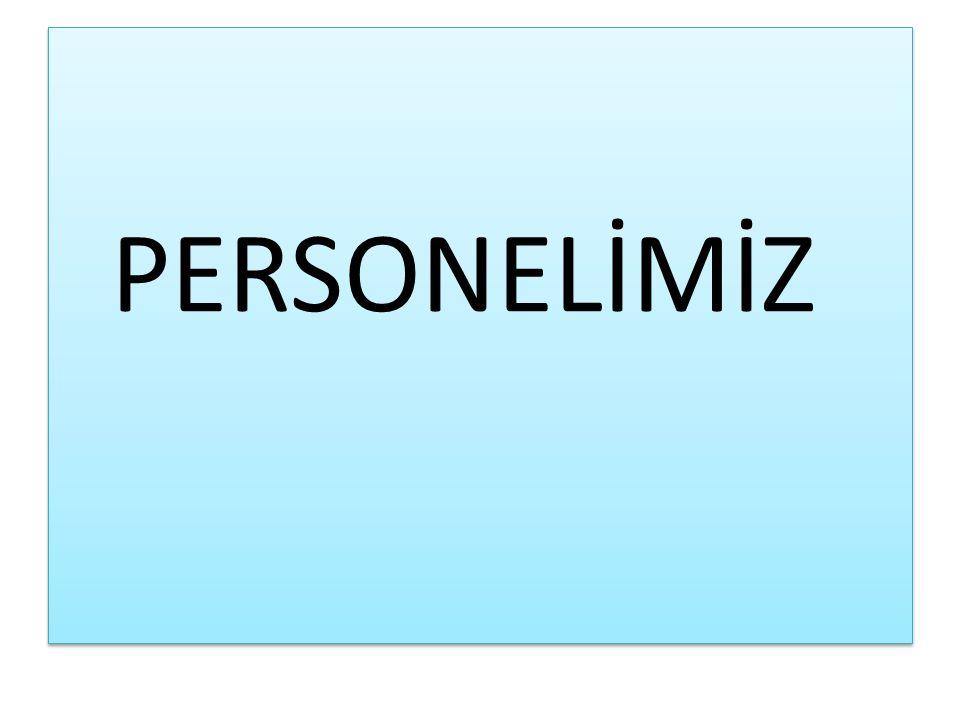 PERSONELİMİZ
