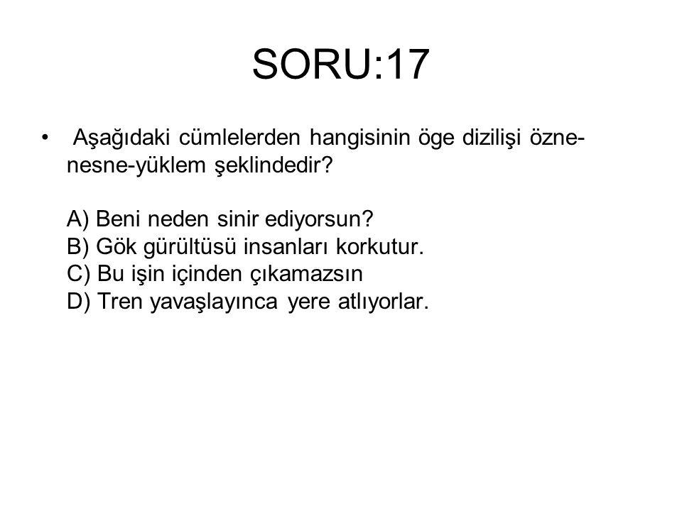 SORU:17