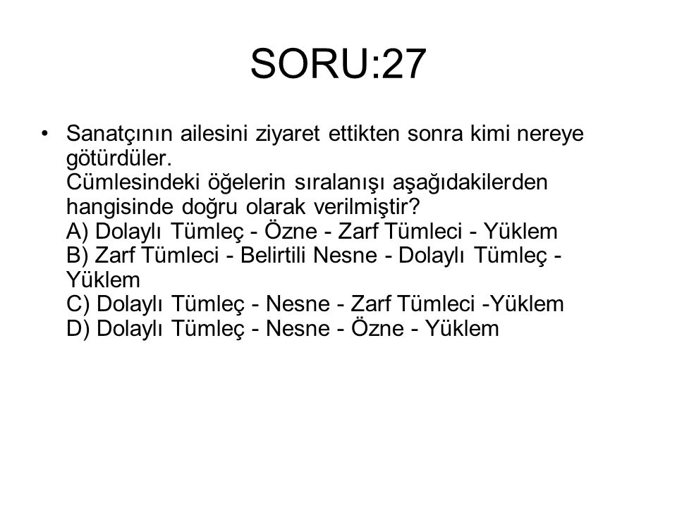 SORU:27