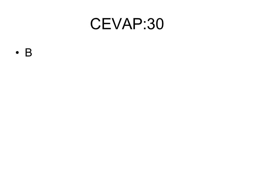 CEVAP:30 B