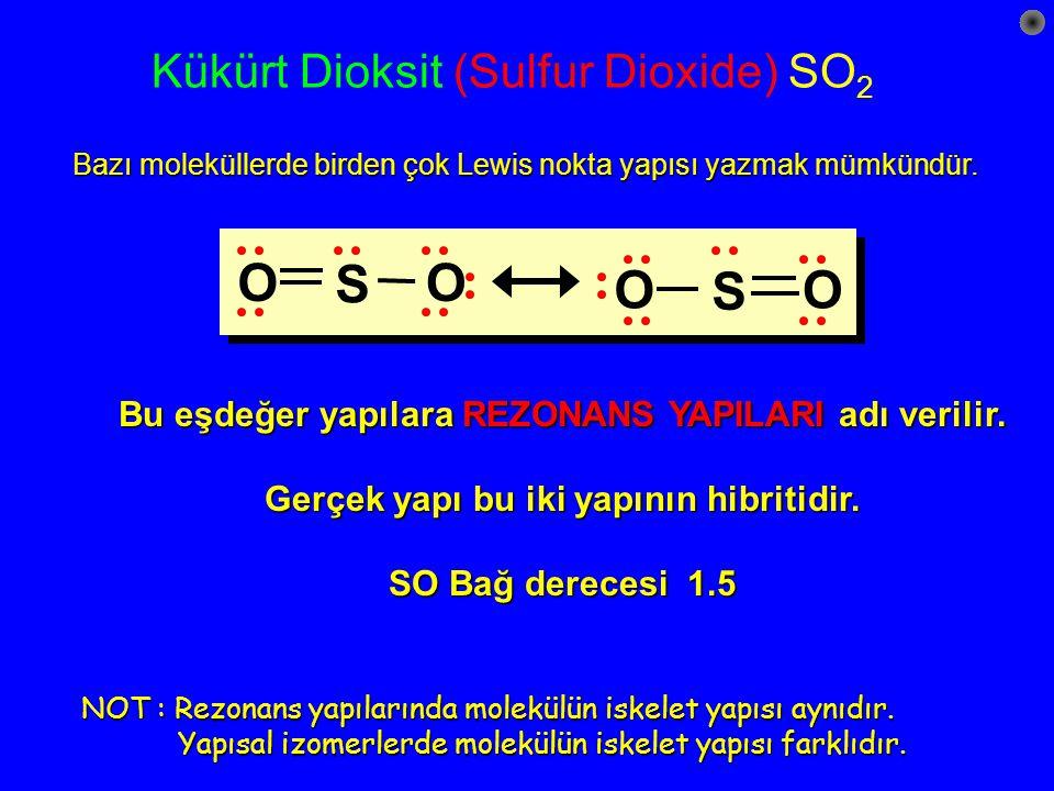 Kükürt Dioksit (Sulfur Dioxide) SO2