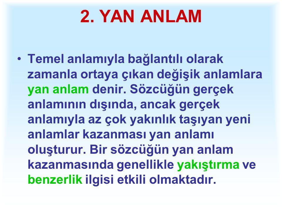 2. YAN ANLAM