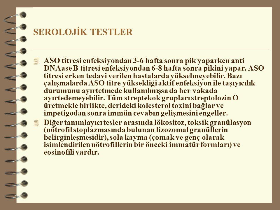 SEROLOJİK TESTLER
