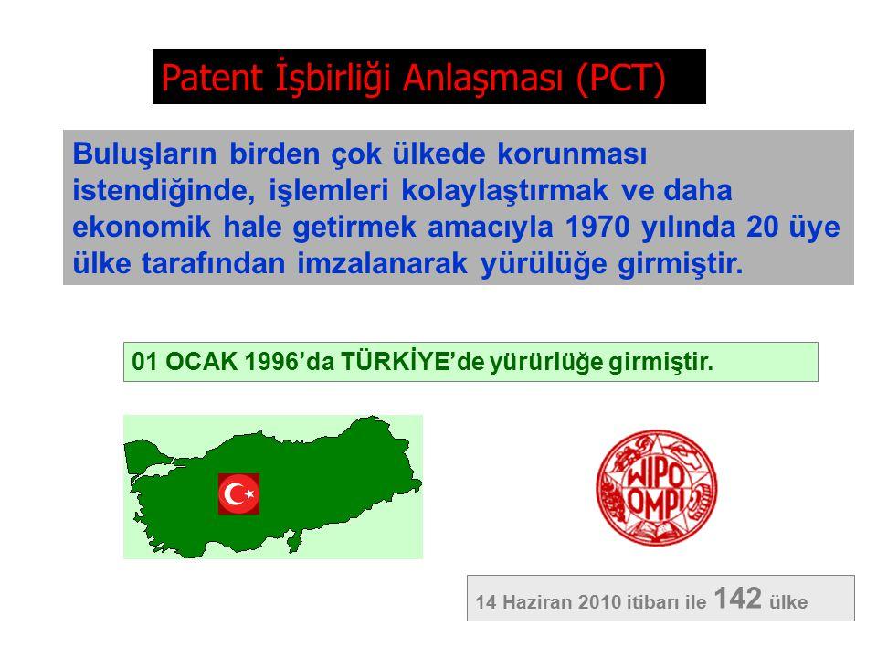 Patent İşbirliği Anlaşması (PCT)