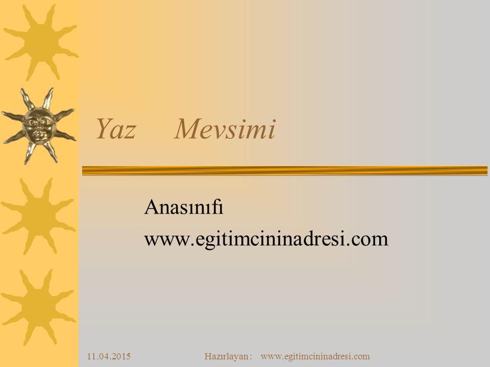 Anasınıfı www.egitimcininadresi.com